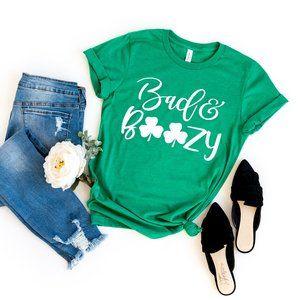Bad and Boozy - UNISEX Tee - Heather Kelly